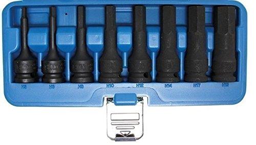 BGS Technic 5481 Juego de Puntas de Vaso de Impacto, 0 W, 0 V