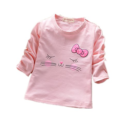 ftsucq-little-girls-long-sleeve-smiley-face-pattern-tee-shirtspink-xl