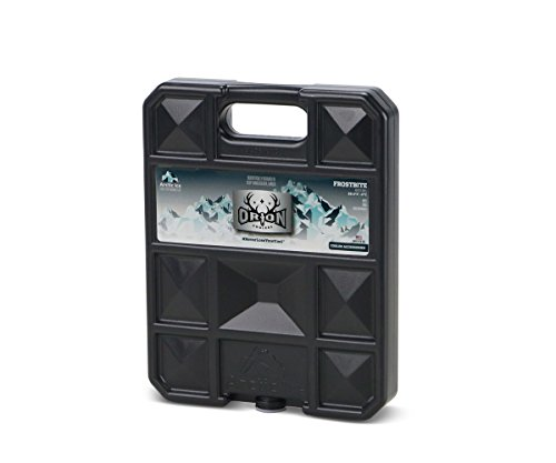 ORION Black Ice – Extra Large Long Lasting Freezer Ice Pack – Hard Shell Dry Ice Alternative Cooler Accessory (Black Ice (-15°C), X-Large)