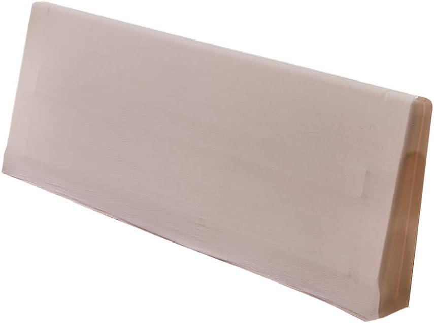 120cm Beige 120//180//200 cm 3 Tama/ños Opcional FLAMEER Funda Protector de Cabeceros de Cama