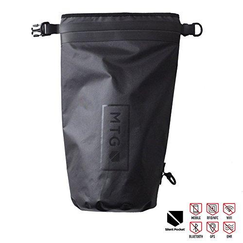 Silent Pocket 10 Liter Nylon Dry Bag Waterproof Military Faraday Cage Dry Bag / Sack / Backpack