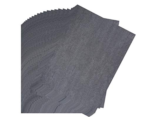 Transfer Papers - 30-Sheet Graphite Transfer Papers, Waxed Carbon Transfer Papers, Carbon Copy Papers, Black Tracing Papers, for Wood, Paper, Canvas, Fabric, DIY Craft Art, 18 x 24 Inches