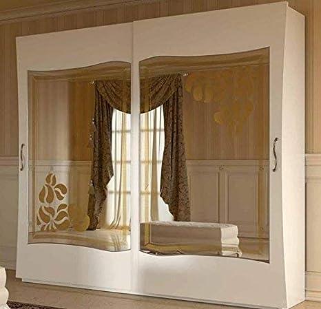 dafnedesign. com - Armario 2 puertas correderas con espejo ...