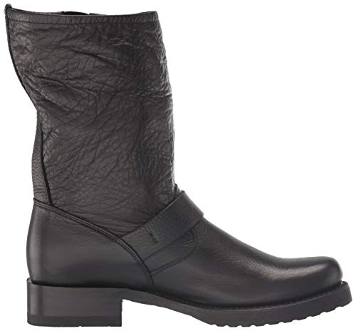 FRYE Women's Veronica Short Ankle Boot, black, 9 M US