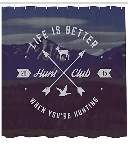 Douglas Hill Grunge Hunt Club Emblem with Arrows