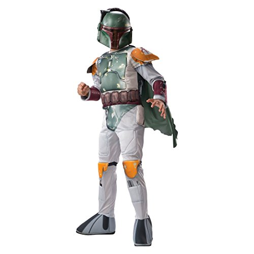 Disney Star Wars Boys' Boba Fett Muscle Costume