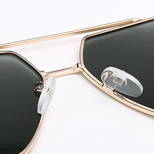 de frame Green polarizadas aire las LX los Lens gafas lens conducen sol Dark Gold Color hombres LSX Gafas polarizadas de libre que al Gold green de dark Frame xwwAFYHqP