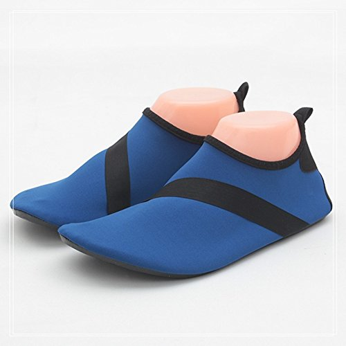 Zapatos Barefoot Zapatos Antideslizante Zapatos Stream Playa Zapatos Natación Calzados Los De Zapatos Buceo Amantes Snorkel JUNHONGZHANG Suaves Negro Deportivos q0ZtfZ