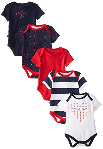 Nautica Baby Girls Pack Bodysuits product image