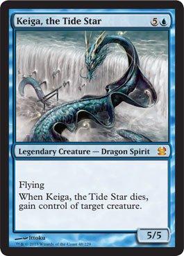 Magic: the Gathering - Keiga, the Tide Star - Modern Masters