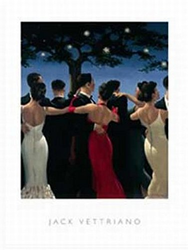 - Posters: Jack Vettriano Poster Art Print - Waltzers (32 x 24 inches)