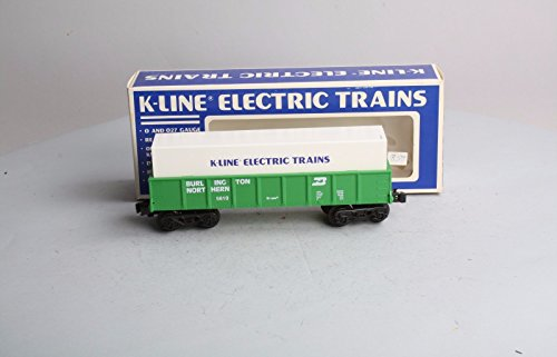 Northern Gondola (K-Line K5610 Burlington Northern Gondola Features operating knuckle couplers New with Original Box)
