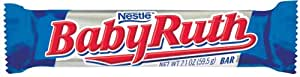 Baby Ruth Milk Chocolate Candy Bar, 2.1-Ounce Bars (Pack of 48)