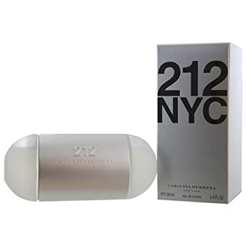 Carolina Herrera 212 NYC Eau de Toilette Spray for Women, 3.4 Fluid Ounce