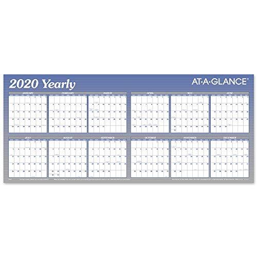 AT-A-GLANCE 2020 Erasable Wall Calendar, 60