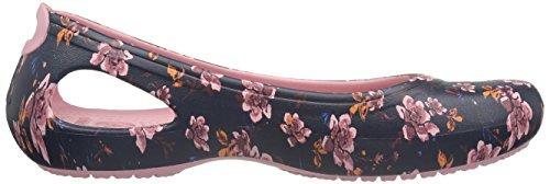 Crocs Womens Kadee Graphic Ballet Flat Black/Floral 66iXV