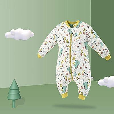 flqwe Saco De Dormir De AlgodóN Unisex para BebéS,Saco de Dormir bebé otoño e Invierno-Algodón Grueso C_12-36 Meses 80cm,Saco De Dormir Bebe Verano Y 4 Estaciones Recien Nacido: Amazon.es: Hogar