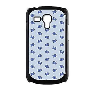 Generic Creative Back Phone Covers For Kid Printing Tardis For Samsung Galaxy S3 Mini Choose Design 1