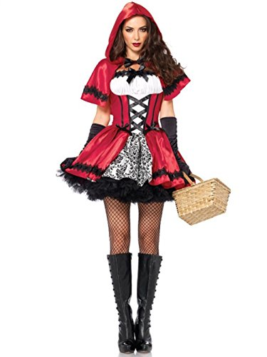 [VLUNT Halloween Christmas Costume Dress up Women Clothes (M)] (Angel And Demon Costumes)