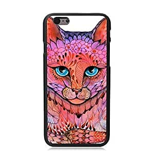 "For iPhone 6 Plus Case, Fashion Cat Pattern Protective Hard Phone Cover Skin Case For iPhone 6 Plus (5.5"") + Screen Protector"