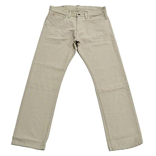 Polo Ralph Lauren Mens 5 Pocket Jeans Classic Fit (30W x 32, Hudson Bone)