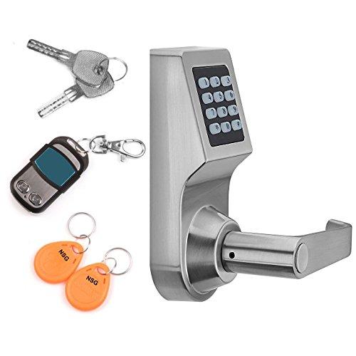 Extra Capacity Battery Door - THINK SOGOOD Electronic Door Lock Keypad Keyless Smartcode Digital Home Security Lock