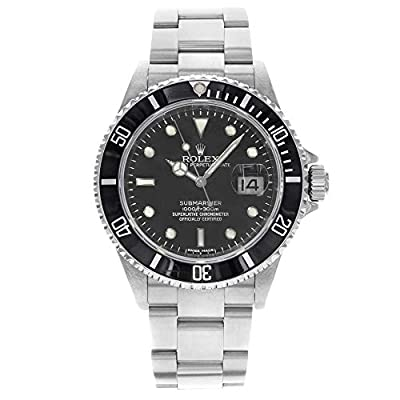 Rolex Submariner Automatic-self-Wind Male Watch 16610 (Certified Pre-Owned) by Rolex