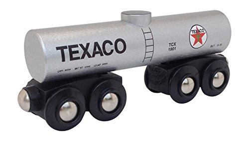 Tank Texaco - Texaco Tank Car magnetic wooden train