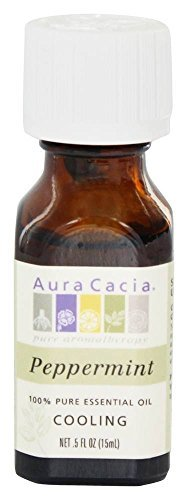 Aura Cacia Peppermint Pure Essential Oil - 0.5 Fl Oz by Aura Cacia
