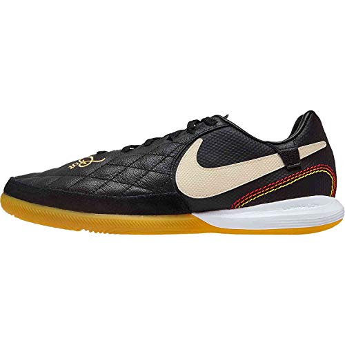 Nike Tiempo Lunar Legend 7 Pro 10R IC Soccer Shoes (Black/Light Orewood Brown) (Men's 6.5/Women's 8)