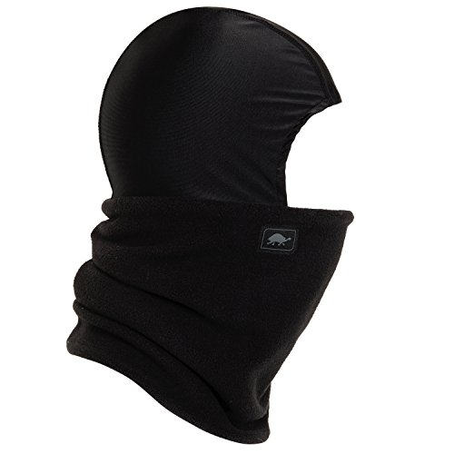 - Turtle Fur Shellaclava, Heavyweight Chelonia 150 Fleece Balaclava, Black