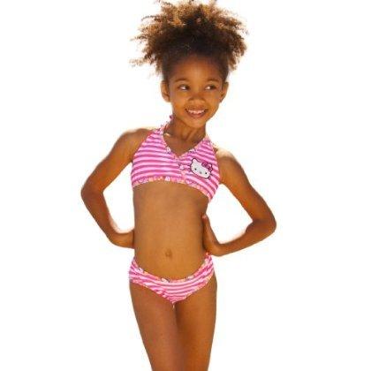 Hello Kitty Triangle Bikini Set