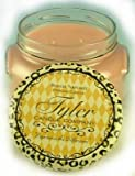 Tyler Glass Jar Candle - 22 Oz Long Burning Scented Candle - Mediterranean Fig Fragrance