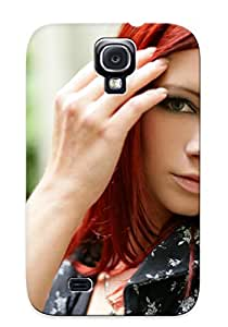 Ellent Design Piper Fawn Ariel Adult Women Models Actress Females Girls Sexy Babes Redheads Phone Case For Galaxy S4 Premium Tpu Case For Thanksgiving Day's Gift