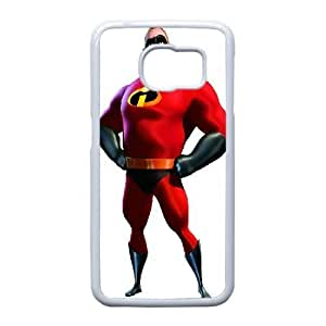 The Incredibles_006 TPU Cell Phone Case For Samsung Galaxy S6 Edge White