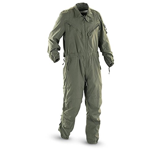 - Made in US Army Military OD green CVC Combat Vehicle Coverall Nomex Aramid USGI