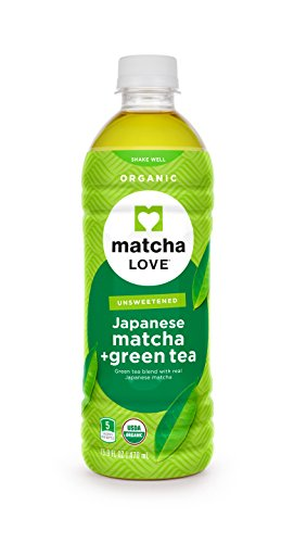 (Matcha Love Organic Matcha and Green Tea Traditional 470 ml (Pack of 12) Unsweetened Zero Calories USDA Organic No Artificial Preservatives Antioxidant Rich BPA Free Packaging may vary)
