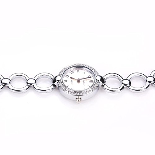 Women's Watch,FUNIC Hot Sale Fashion Luxury Wrist Watch (Silve) - Architectural Silver Outdoor Wall