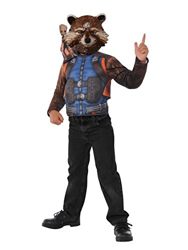 Imagine by Rubie's Guardians of The Galaxy Volume 2 Rocket Raccoon Boxed Dress-Up Set Costume, Multicolor]()