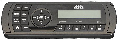Froghead Industries Massimo MSU-400 2 Speaker Stereo Console | MA200 | Lght Kicker Marine Spkr