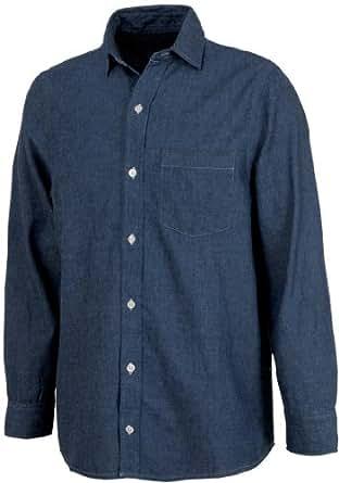 Charles River Apparel 3329 Men's Straight Collar Chambray Shirt,4XL