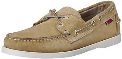 Sebago Men's Docksides Boat Shoe,Sand Suede,7 W US