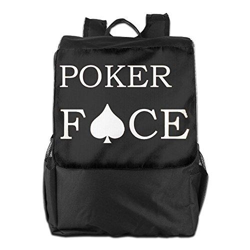 Lady Gaga Poker Face Lightweight Lady Rucksack Black