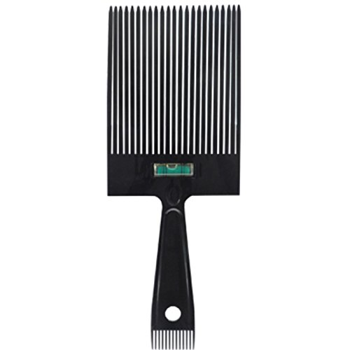 Scalpmaster Flat Top Comb with Level Flattopper with Sideburn Comb Burmax