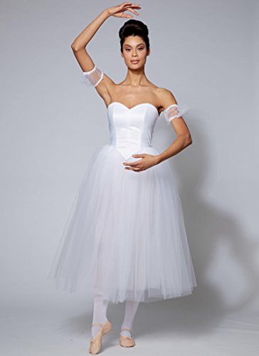 Ballet Costume Companies (McCall's Costumes M7615 Misses' Ballet Costumes with Boned Bodice, Skirt, and Sleeve Variations Sewing Pattern Size E5 (14 - 22))