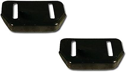 Two Snow Blower Skid for MTD 784-5580-0637 2-Skid plates Craftsman 784-5580