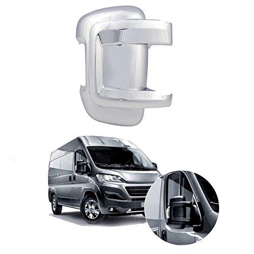 Carcasa para espejo retrovisor cromado/Izquierdo y Derecho: Amazon.es: Coche y moto