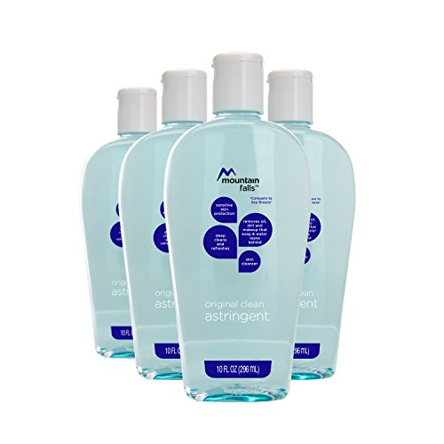 Mountain Falls Original Clean Astringent Skin Cleanser for Sensitive Skin, Compare to Sea Breeze, 10 Fluid Ounce (Pack of 4) ()