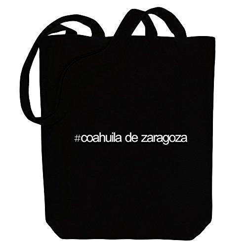 Zaragoza Idakoos Canvas Coahuila Bag Tote De Idakoos Hashtag Cities Hashtag WpHc1T1