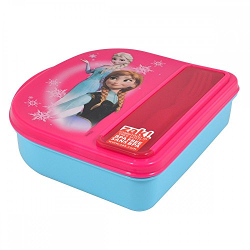 Disney Frozen Food Storage Container w/ Fork & Spoon By Zak!